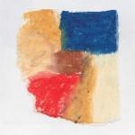 Ölkreide auf Papier 2010, 110 x 115 mm