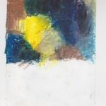 Ölkreide auf Papier 2010, 120 x 165 mm