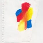 Ölkreide auf Papier 2010, 140 x 160 mm