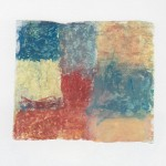 Ölkreide auf Papier 2010, 90 x 75 mm