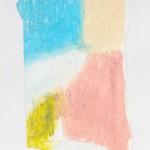 Ölkreide auf Papier 2010, 110 x 165 mm