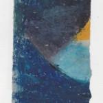 Ölkreide auf Papier 2010, 75 x 135 mm
