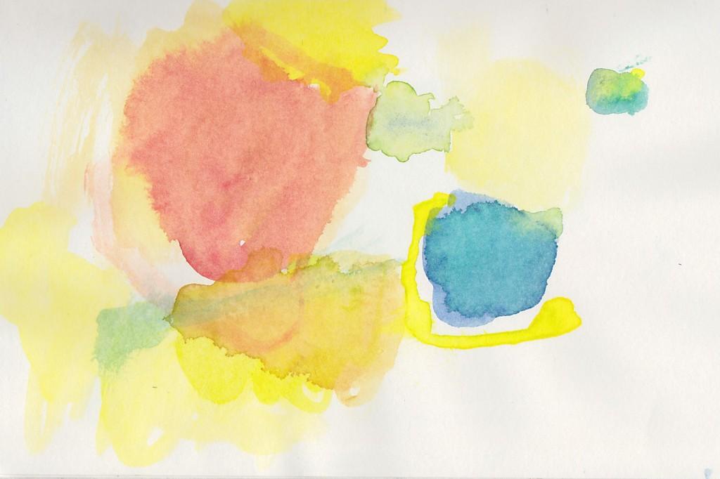 Buch, 2012, Aquarell auf Papier, 21,5 x 16,5 cm