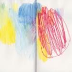 Buch, 2012, Aquarellstift auf Papier, 21,5 x 16,5 cm