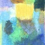 Ölkreide auf Papier 2009, 150 x 230 mm