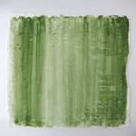 Pigment auf Porzellan, o.T. 2013, 43 x 40 cm