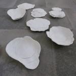 Porzellan 2011, 100 x 100 cm