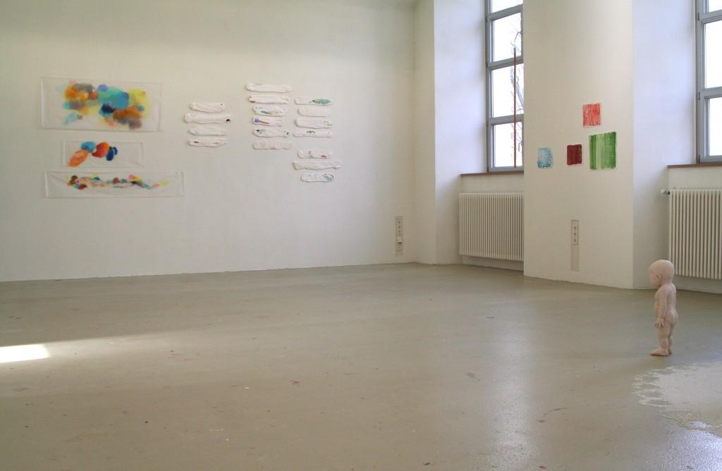 Diplomausstellung AdBK München, 2013 (Raumansicht)