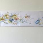 Ausschnitt 2 Leporello 2013, Filzstift (lichtecht) auf Tabellierpapier, 30,5 x 360 cm