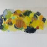 Buntstift und Wachskreide auf Transparentpapier 2013, 64x153 cm