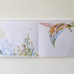 Ausschnitt 7 Leporello 2013, Filzstift (lichtecht) auf Tabellierpapier, 30,5 x 360 cm