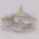 Buntstift auf Papier, Buch 2006, 14,5 x 18 cm (Bild3)