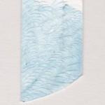 Papierschnitt-Blau
