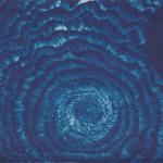 Cyanotypie auf Aquarellpapier