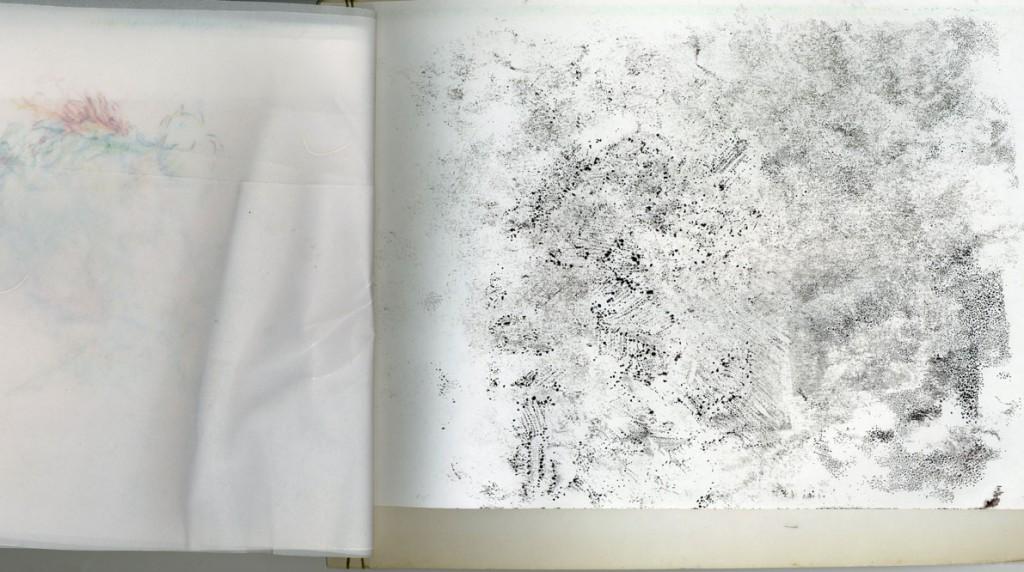 Tusche auf Papier