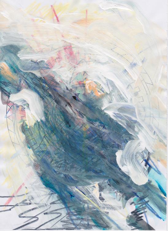 Mandala blau 01